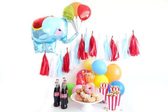 Zirkus Elefant Folienballon