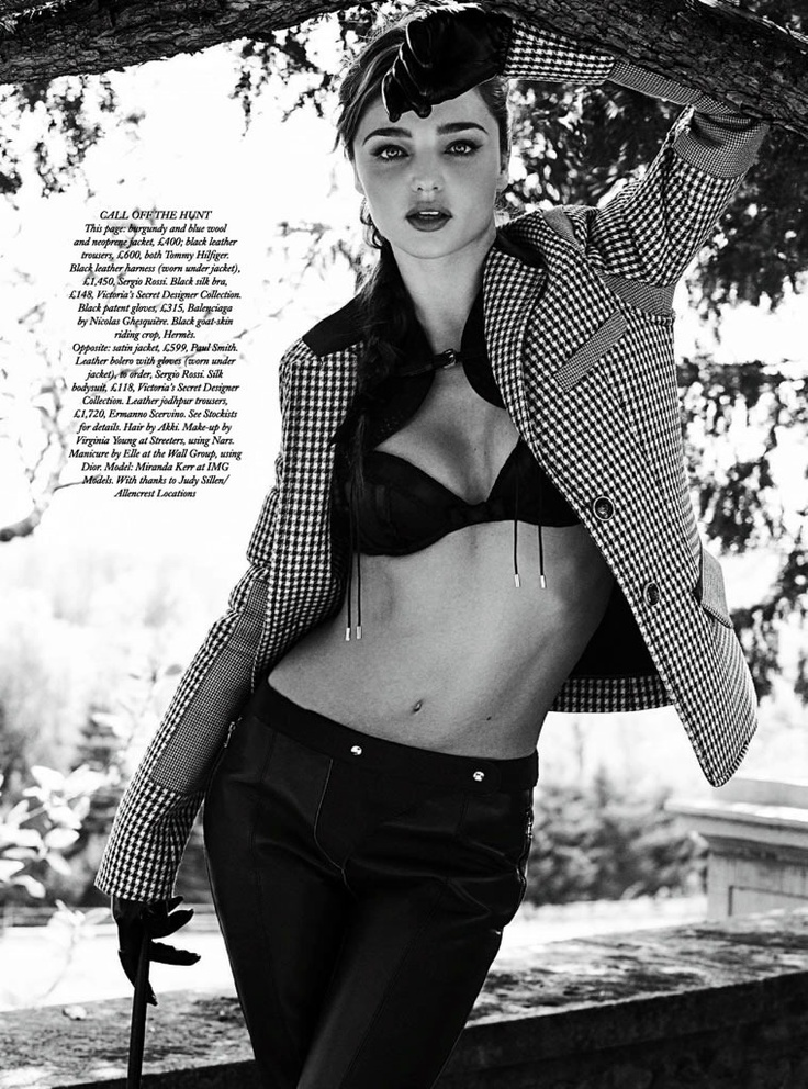Miranda Kerr editorial for Harper's Bazaar UK | Equestrian ...