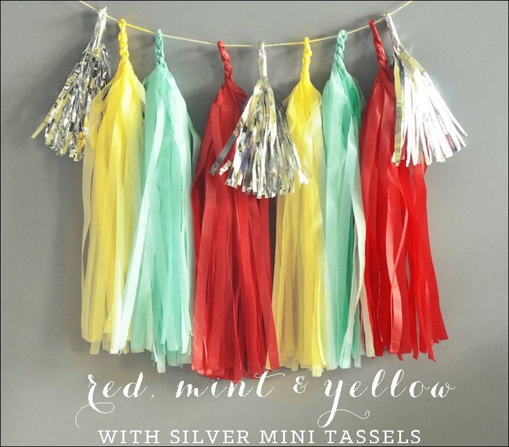 #Carnival #party Theme Tassel #party Garland Kit