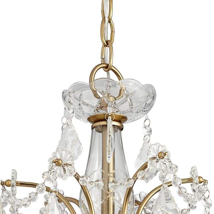 Magrite 26 1 2 Wide Gold 6 Light Chandelier 64v77 Lamps Plus