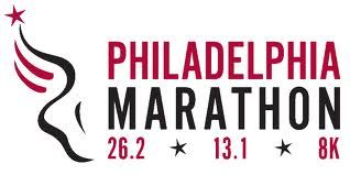 Working hard to hit my Boston Qualifying time at the Philadelphia Marathon in November, 2013