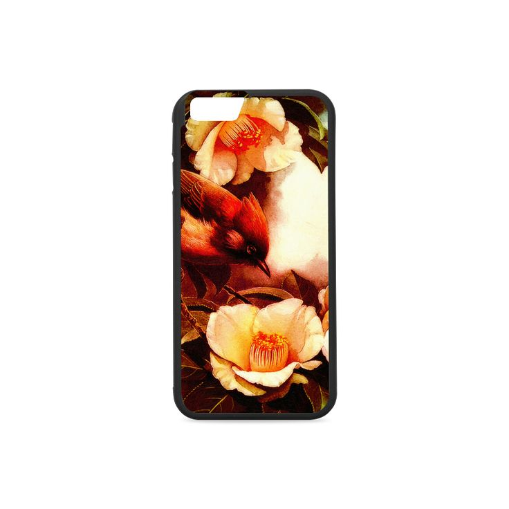 Robin on a Branch Rubber #Case for #iPhone 6/6s