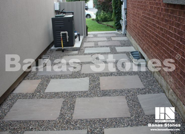 Banas Slate Grey Pavers available at Lanes Landscaping 3500 Mavis Rd, Mississauga, ON L5C 1T8