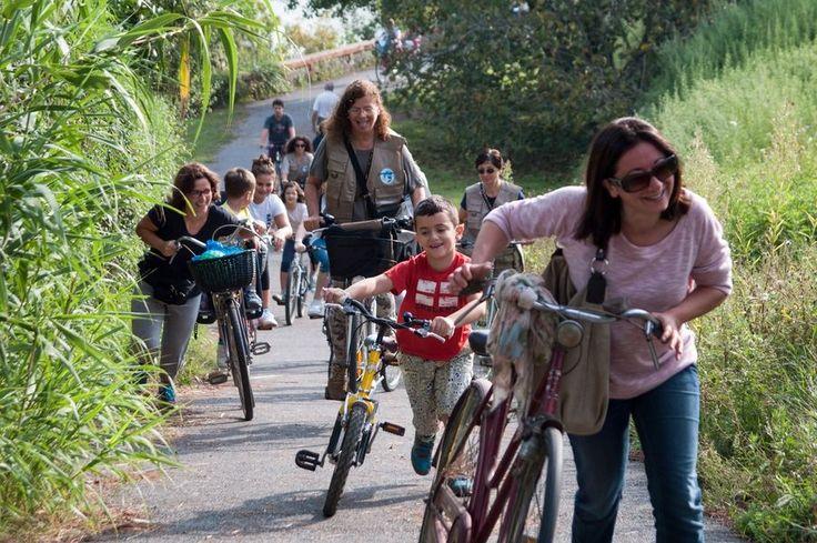 Staffetta delle associazioni, pedalando alla scoperta del territorio di Montelupo Fiorentino. Foto by Fotolupo