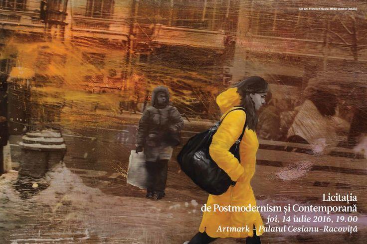Catalog Artmark Licitatia de Postmodernism si Contemporana Iulie 2016! Recomandari: Ion Dumitriu - Canepa, ulei pe panza, estimare 900-1.600 euro