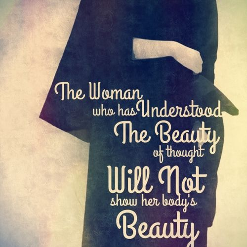 Women Thoughts Quotes: 17 Best Images About I AM A MUSLIM WOMEN On Pinterest