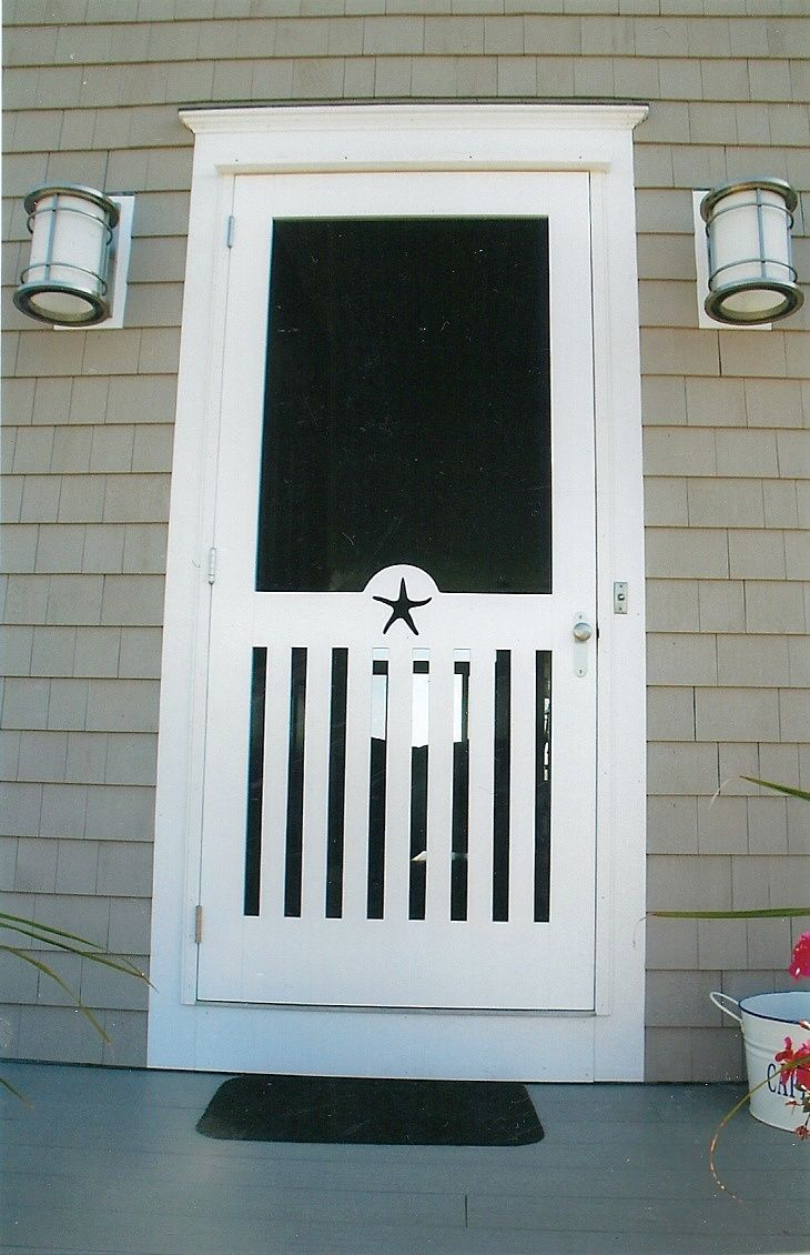 147 best images about my front door on pinterest for Back door with window and screen