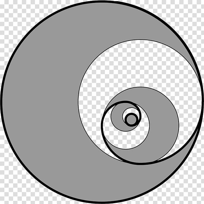 Circle Golden Spiral Fibonacci Number Golden Ratio Circle Transparent Background Png Clipart Golden Ratio Golden Spiral Circle Graphic Design