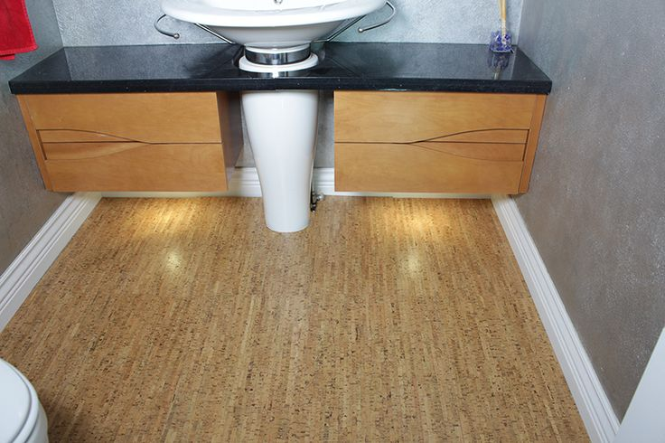 Best Cork Bathroom Flooring Images On Pinterest Bathroom - How thick is cork flooring