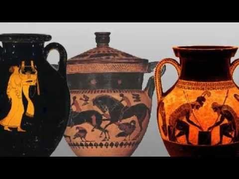 Länsimaisen kuvataiteen kehittyminen 3 Kreikka - YouTube
