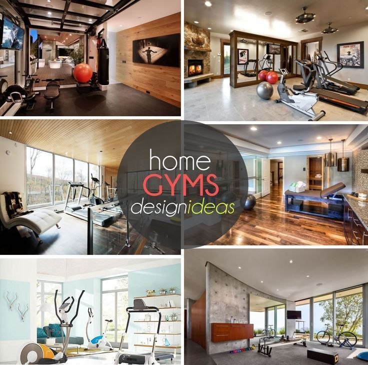 Home Gym Design Ideas: 17 Best Ideas About Home Gyms On Pinterest