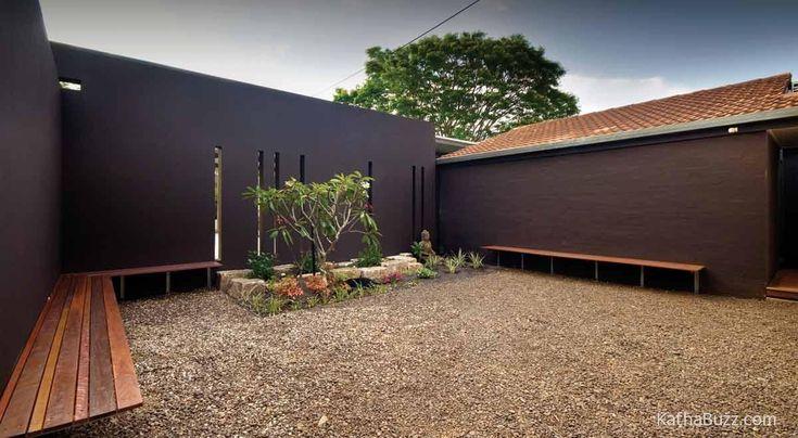 contemporary courtyard gardens | KathaBuzz.com - Modern Simple home designs Courtyard n Porch