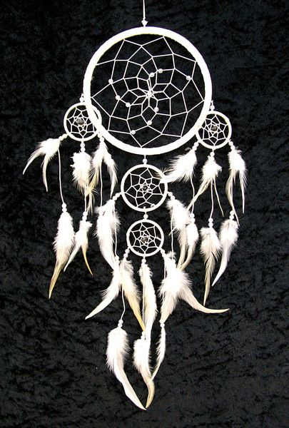 Engel+-+Traumfänger++Dreamcatcher+Indianer+Träume+von+World+Art+Online+auf+DaWanda.com