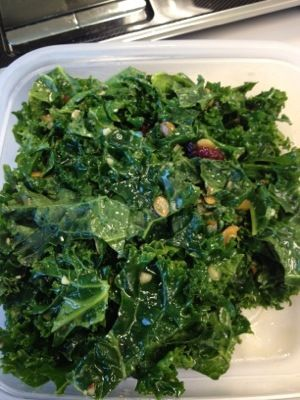 Central Market has the best Kale Salad and I found the recipe!