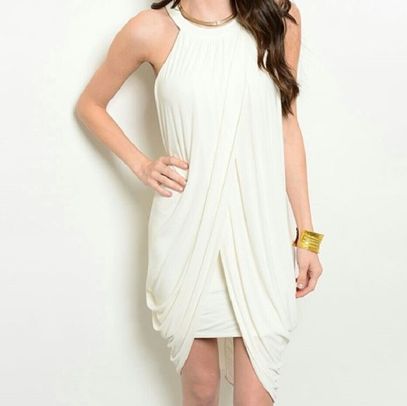 """~Ivory Goddess~ ~PRICE FIRM~   Ivory Goddess  Fabric Content: 100% POLYESTER Description: L: 37"""" B: 30"""" W: 32   ~I SELL OTHER PLACES SO ITEMS GO QUICK SO DON'T HESITATE AND MISS OUT~ Dresses Mini"""