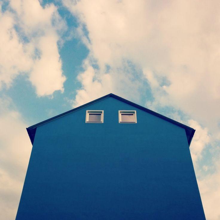 Blue Sky or House? -  Claudio Marchionne #stampe per #arredare una #mansarda