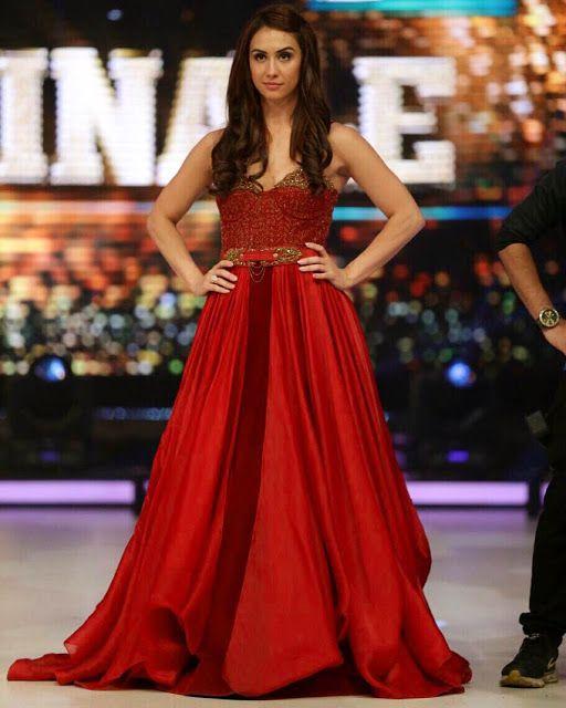 Blood Red Lauren Gottlieb in by Shantanu & Nikhil ~ Sha's Inkling