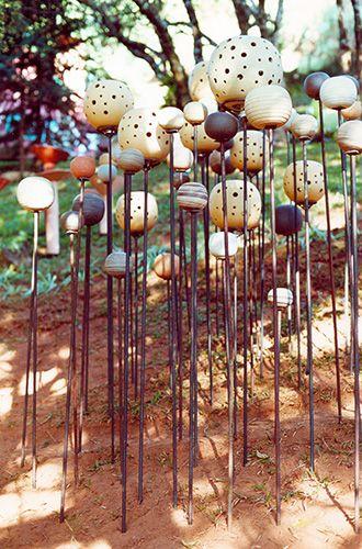 PAULA UNGER | Luminárias para jardim