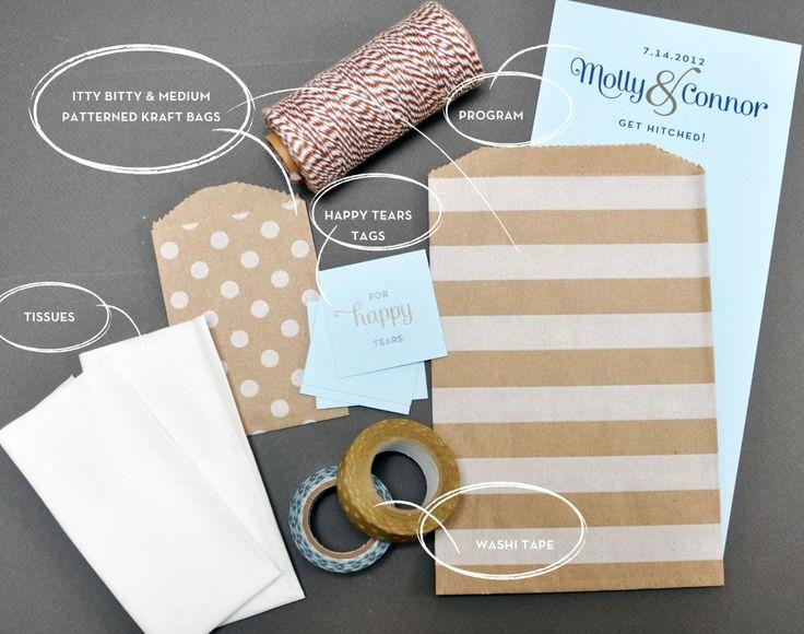 Program & Tissue Holder DIY