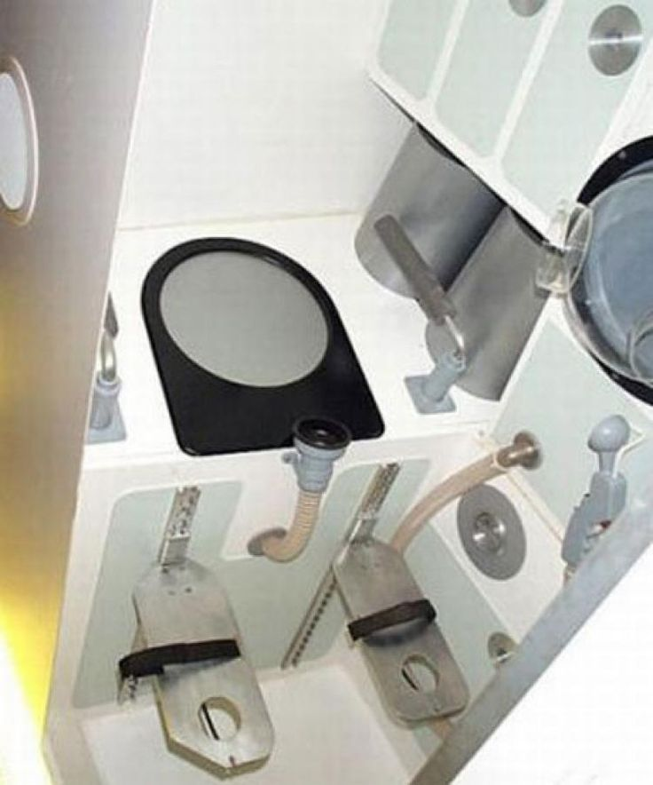 Image result for 19 mil ISS toilet