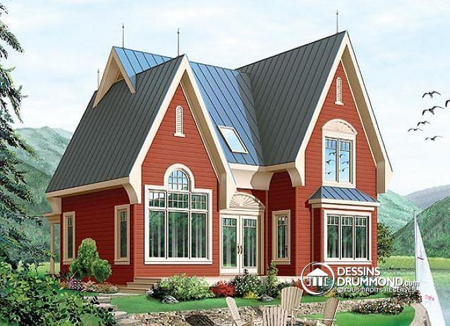 les 204 meilleures images du tableau plan de chalet dessins drummond plan de maison sur pinterest. Black Bedroom Furniture Sets. Home Design Ideas