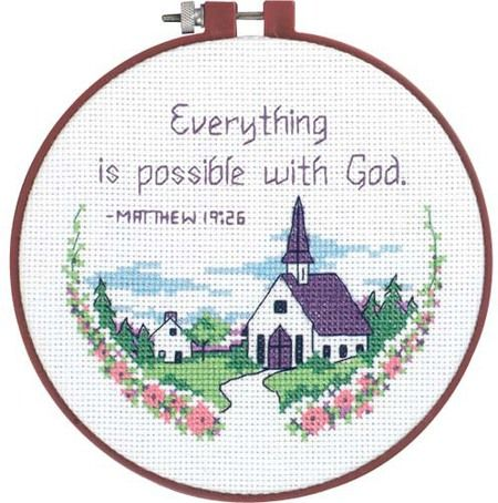 Everything Is Possible - Beginner Cross Stitch Kit