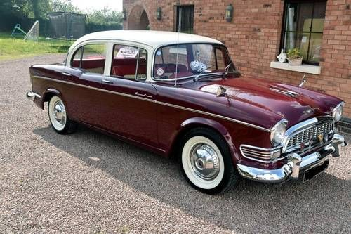 1959 Humber Super Snipe Maintenance of old vehicles: the material for new…