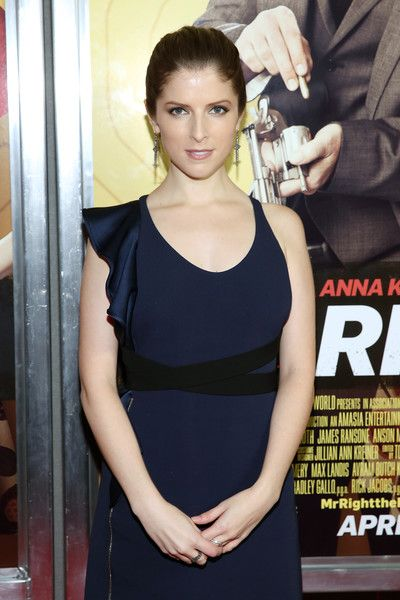 """Anna Kendrick Photos - Actress Anna Kendrick attends the """"Mr. Right"""" New York Premiere at AMC Lincoln Square Theater on April 6, 2016 in New York City. - 'Mr. Right' New York Premiere"""