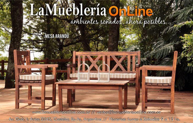 Muebles de jardin ecomadera para conocer los precios - Catalogo muebles jardin ...
