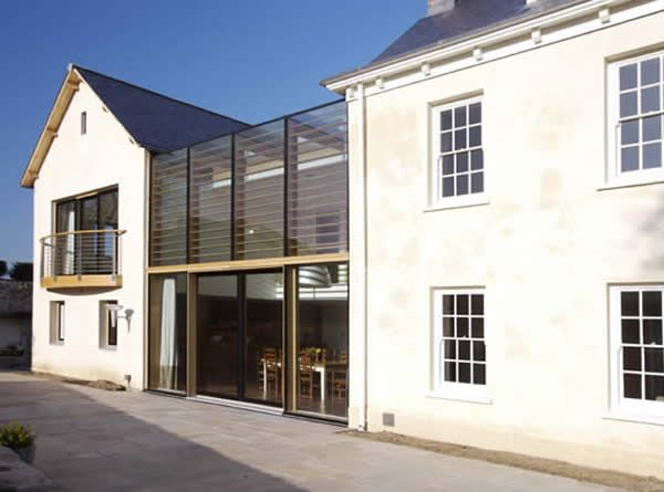 Laminated timber curtain walling, window and door systems from Glass Tech Facades