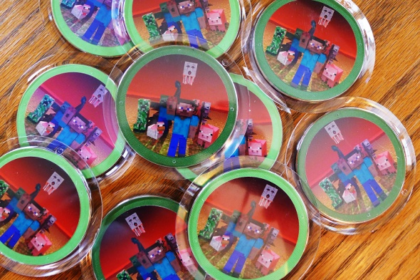 Minecraft party supplies and ideas