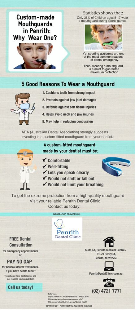 Custom-made Mouthguards in Penrith: Why Wear One? http://penrithdentalclinic.com.au/