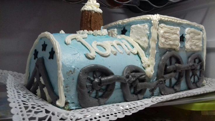 Tomi 1. születésnapi tortája