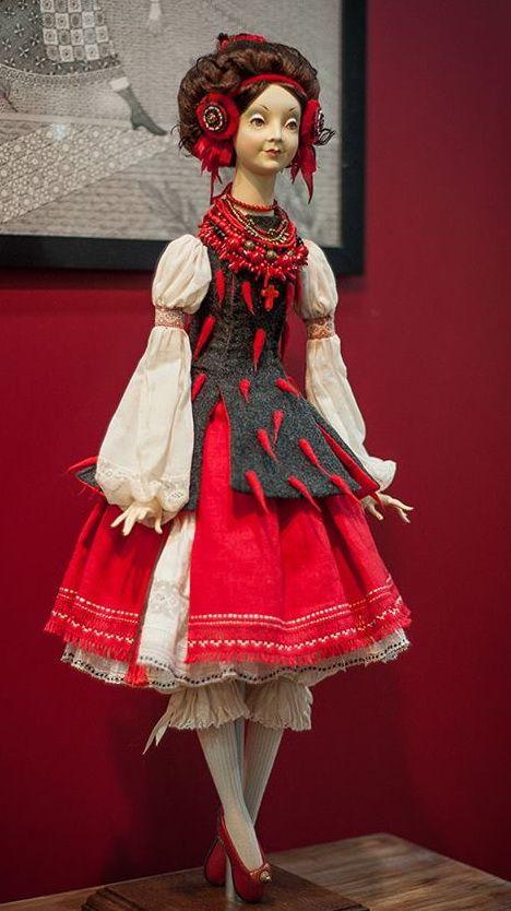 Ukrainian fairy folk doll. Українська казкова фолк-лялька. Украинская фолк-кукла.