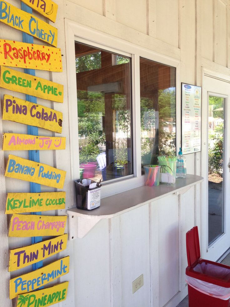 Sunset Slush Italian Ice   A Tasty Paradise Awaits. Find This Pin And More  On Pawleys Island Dining ...