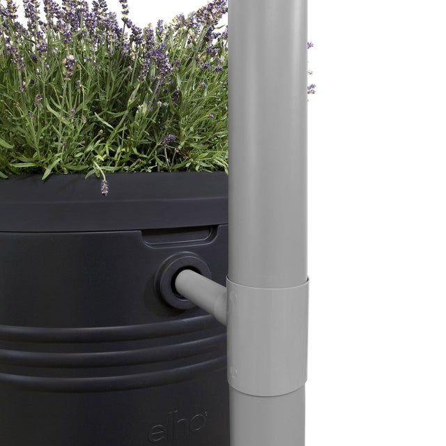 Recuperateur D Eau De Pluie Elho Green Basics Living Noir 200 L Leroy Merlin En 2020 Recuperateur D Eau Pluie Noir