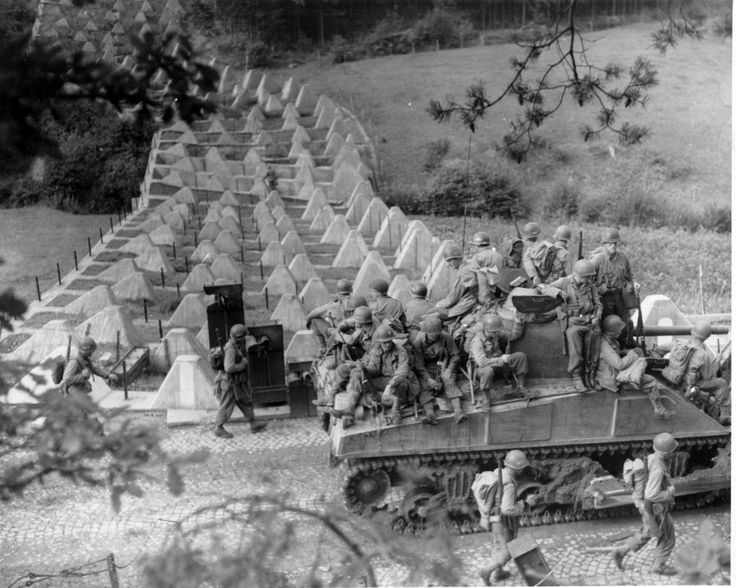 Breaking the Siegfried Line, October - December, 1944