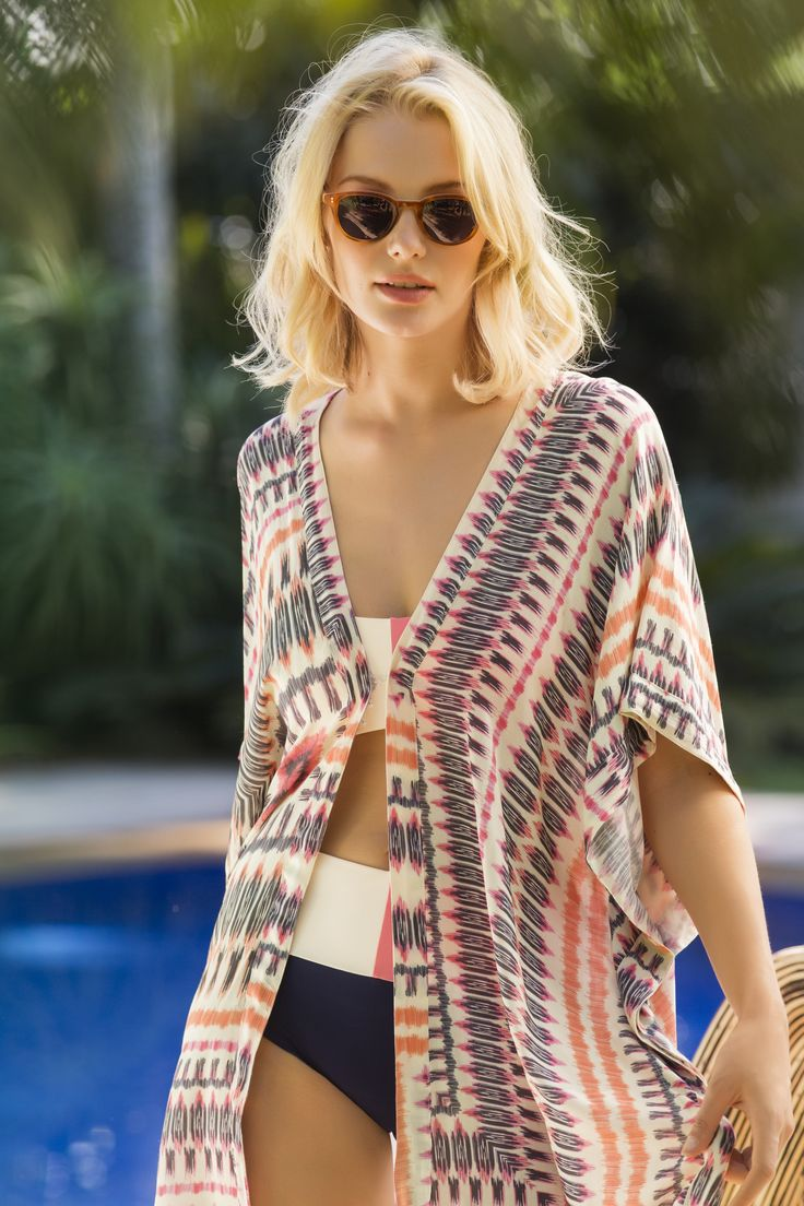 Ethnic Cover Up / Shop Online at www.touche.com.co Touche Collection Swimwear
