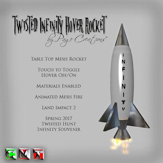 ღ ♡ Twisted Hunt Extras - Infinity Hover Rocket by Page Creations™ ♡ ღ   by Raven Page