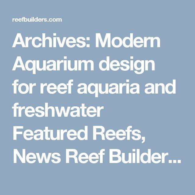 17 Best Ideas About Aquarium Design On Pinterest