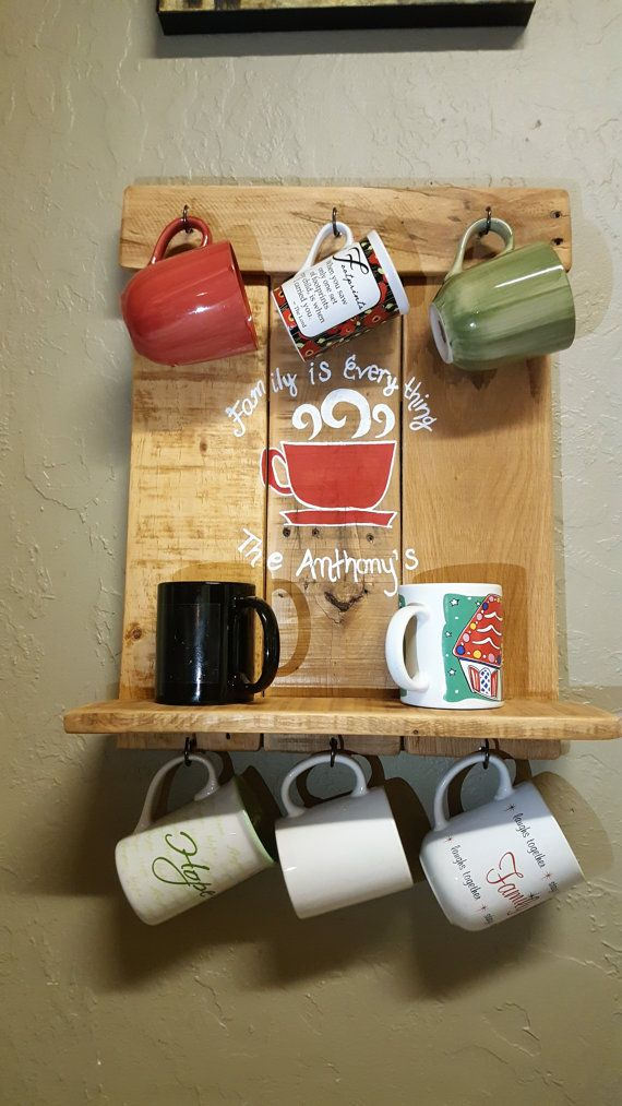 1000 ideas about mug rack on pinterest coffee mug for Mug racks ideas