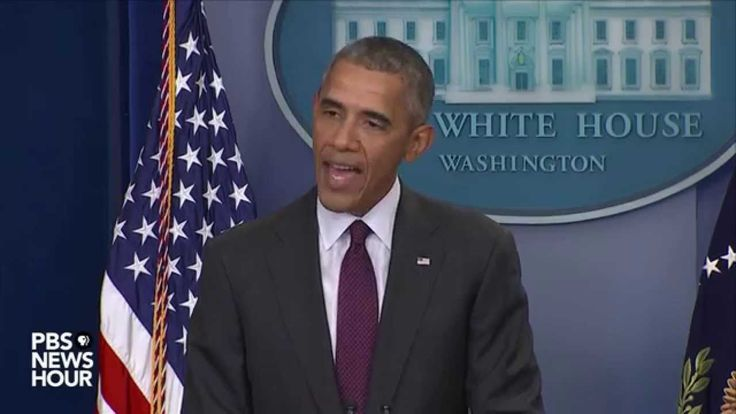 In a news conference on Thursday, President Barack Obama addressed today's deadly mass shooting at Umpqua Community College in Roseburg Oregon.