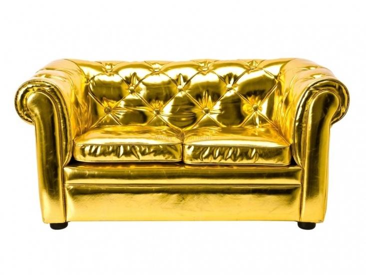 Mini kanapa PT Little Chester złota błyszcząca  http://www.citihome.pl/mini-kanapa-pt-little-chester-zlota-blyszczaca.html
