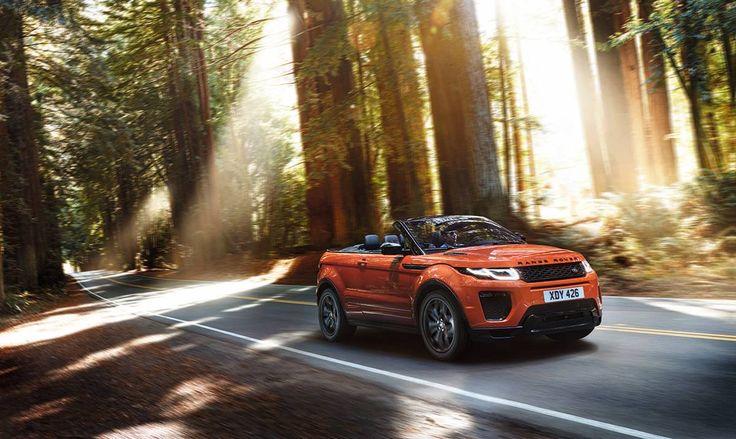 Heyecan verici bir açık hava deneyimi. Range Rover Evoque Convertible