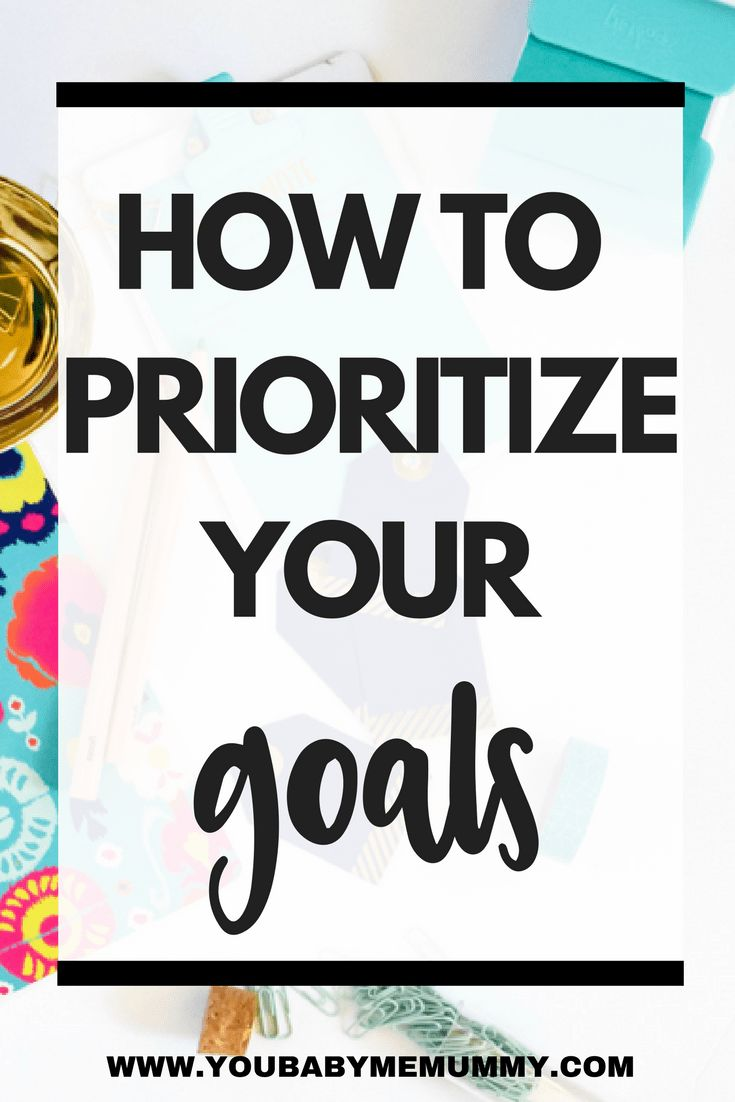 Do you set goals then fail to achieve them? Feeling overwhelmed and unsure where you should focus your time? Here's how to prioritise your goals for maximum
