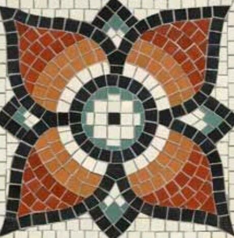 Pin By On DIY And Crafts Mosaic Flowers Free Mosaic Patterns Mosaic Tiles