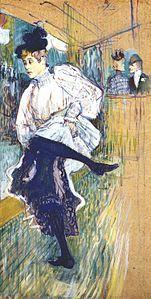 Jane Avril dansant (1892)