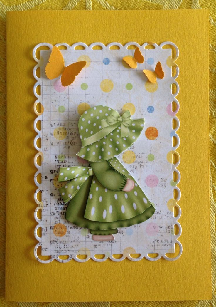 25 Best Images About Cards Sunbonnet Sue On Pinterest
