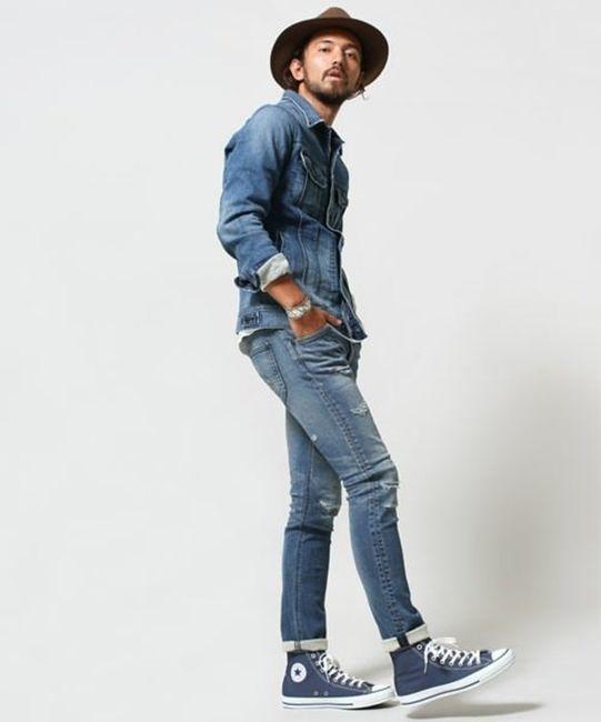 【メンズ春夏】白シャツ×デニムの定番コーディネートは靴で着回す!おすすめコーデ10選
