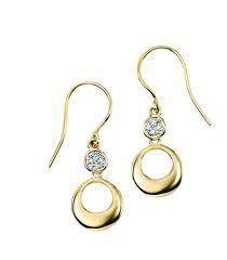 Elegant gold earrings #mybetsonBetts